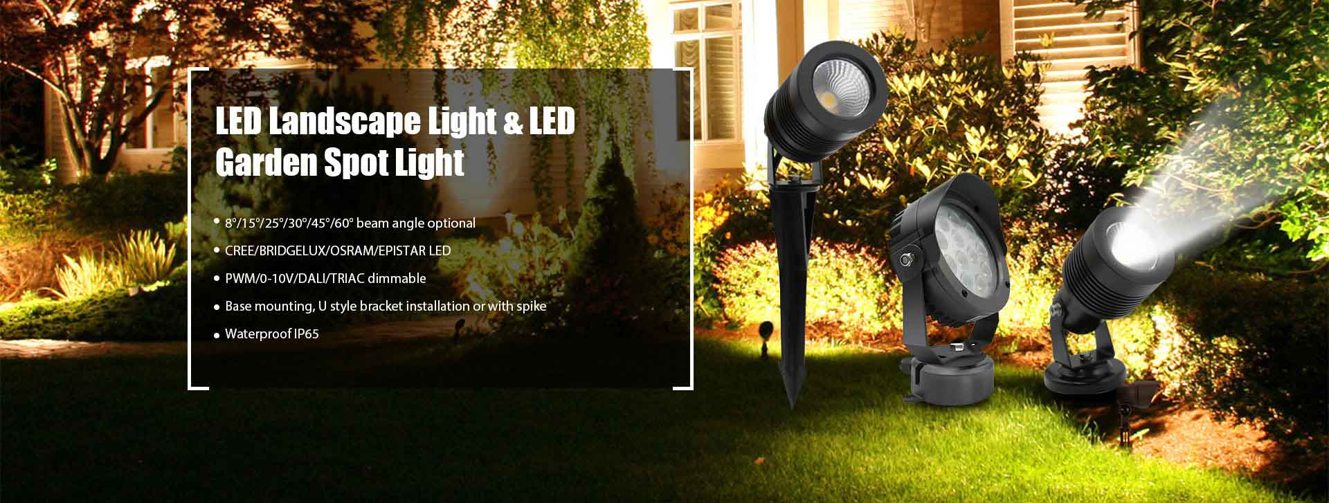 LED Landscape Spot Light