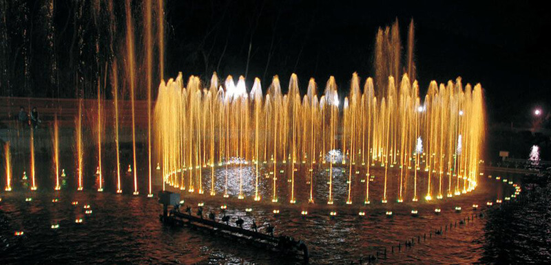 High Power LED Music Fountain Light