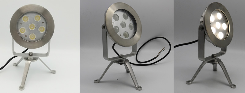 LED Underwater Tripod Spot Light