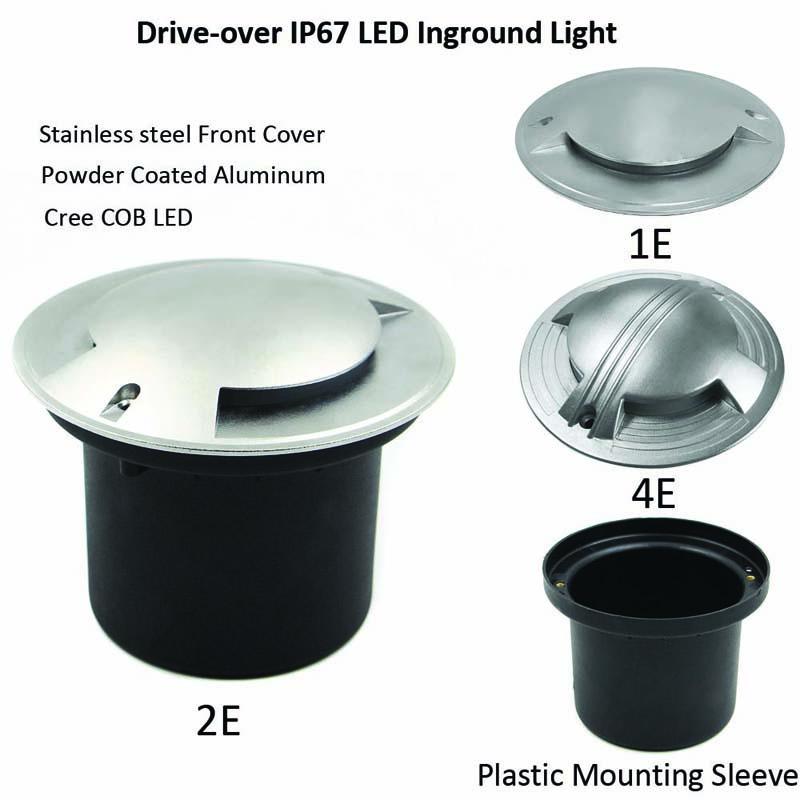 COB 8W/10W/15W Side View LED Inground Light