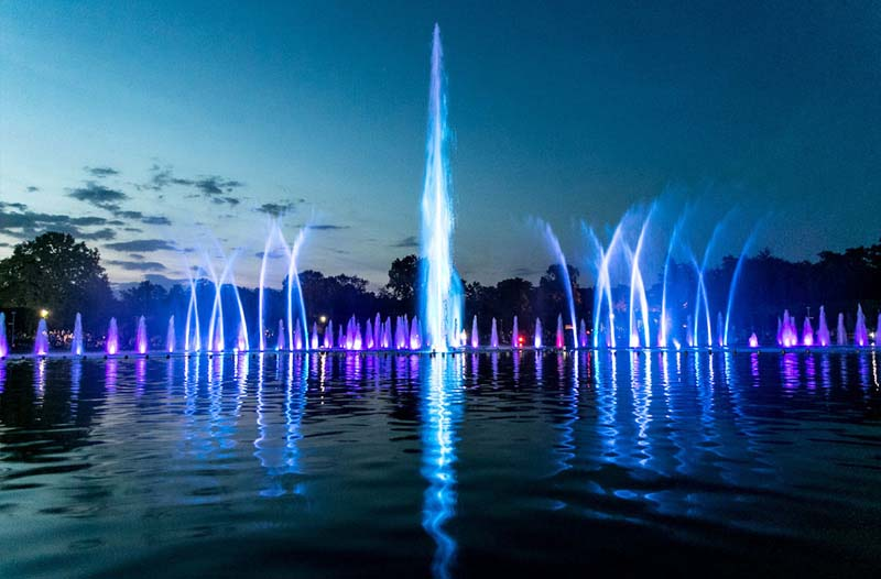 LED Underwater Colorful Fountain and Pool Light