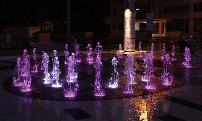 Submersible LED Light for Dry Fountain