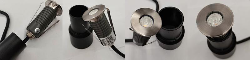 IP67 1W/2W LED Inground Light LED Floor Light