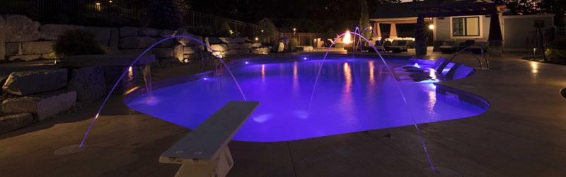 Underwater RGBW LED Waterproof Recessed Light
