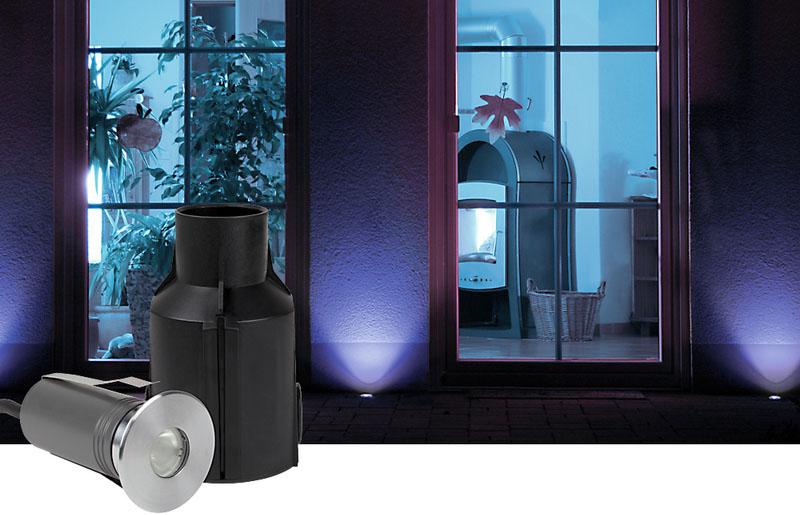 6W COB LED Round Strong Up light Inground lights