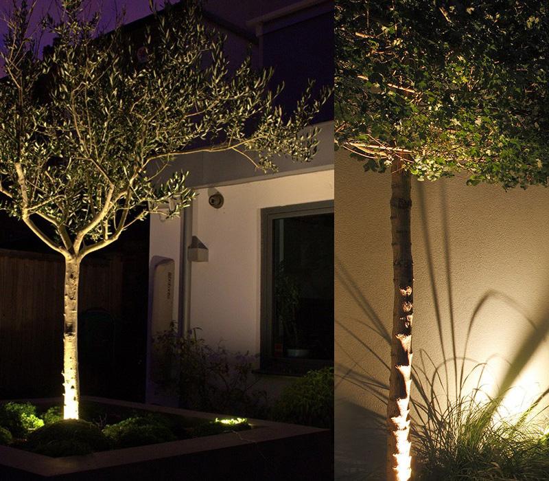 LED Garden Spot Light or with spike