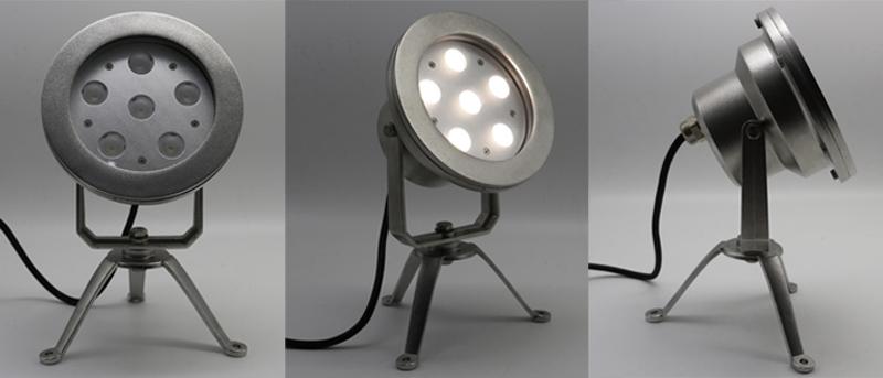LED Underwater Spot Light with Bracket