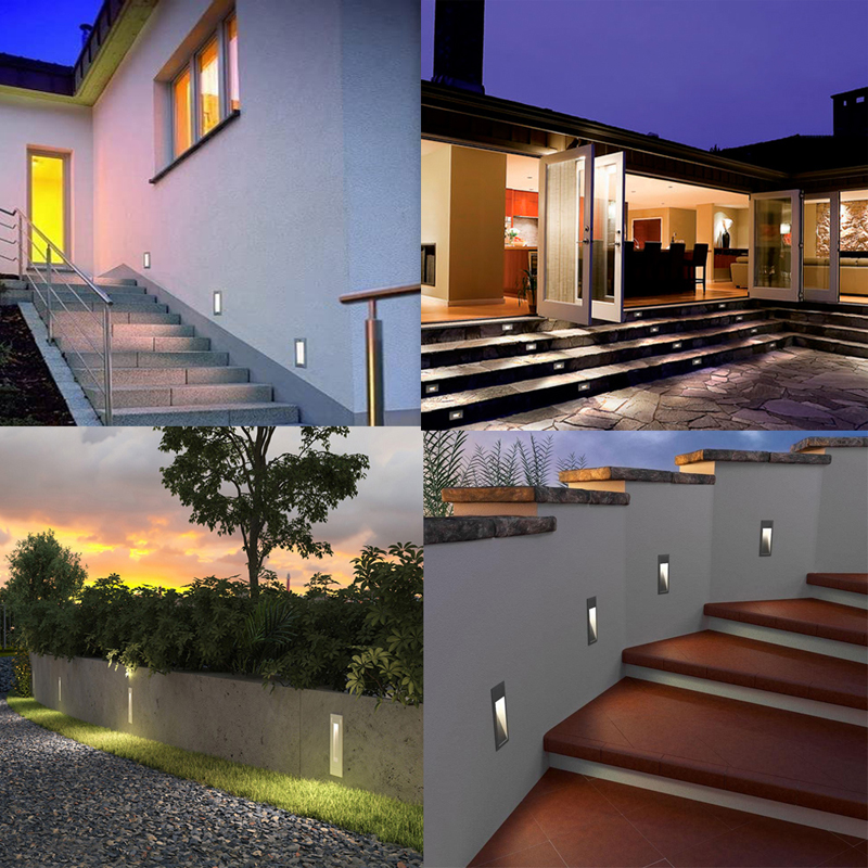 SMD LED Recessed Wall Light,LED Stair Lamp