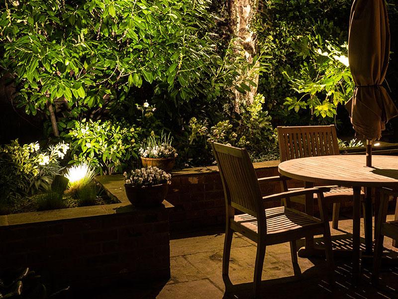 12W/36W IP68 Outdoor LED Garden Lights