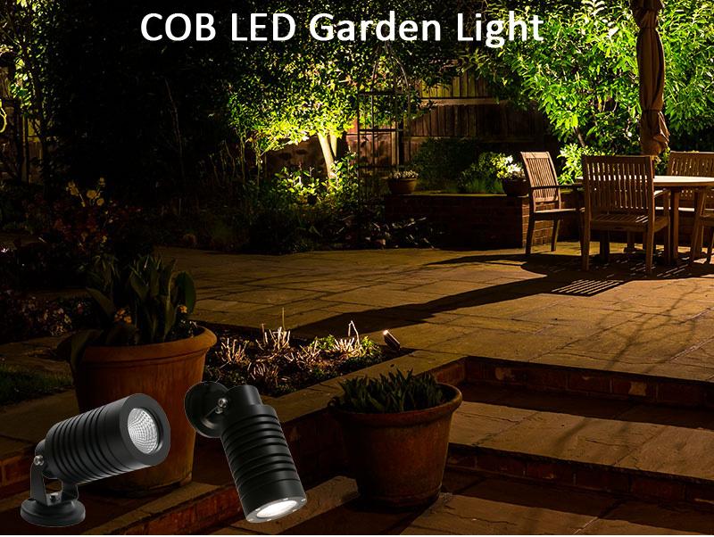 15W CREE COB LED Garden Spot Lights IP65 COB LED Lawn Light