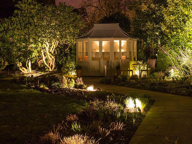 COB LED Garden Spot Lights With Spike