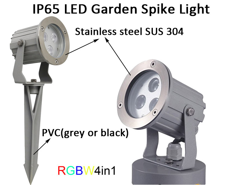 IP65 Outdoor RGBW 4in1 LED Landscape Light