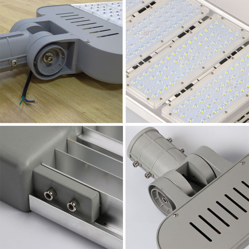 200W LED street light head IP65 waterproof module street light