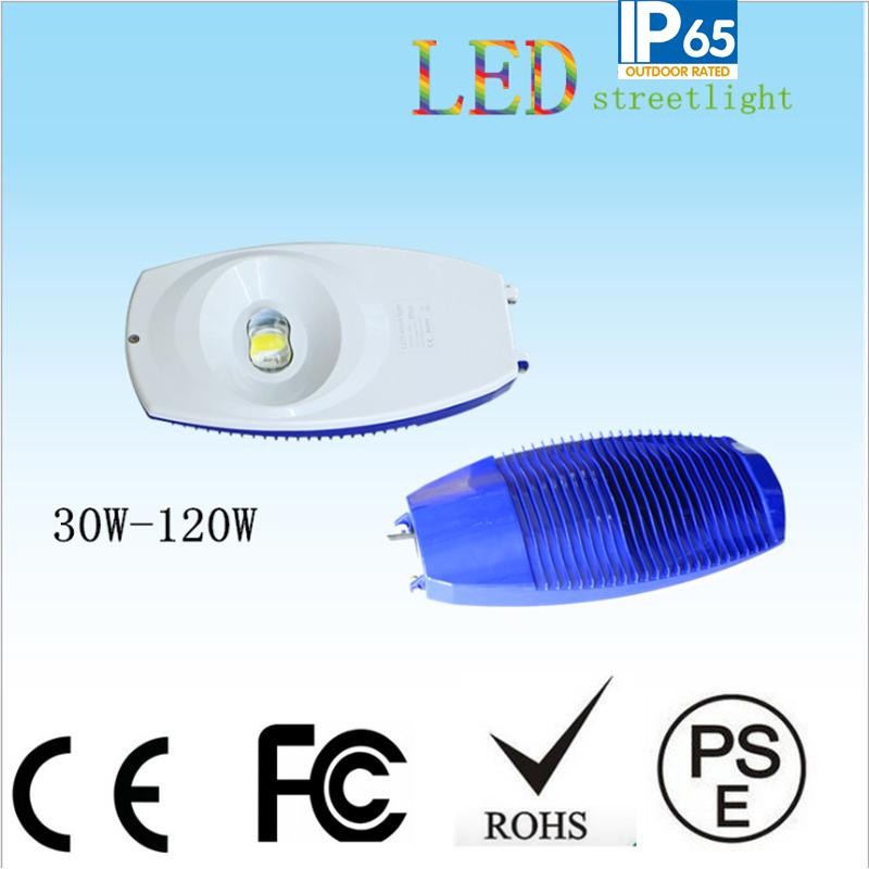 120W LED Solar Street Light COB Street Lamp Head