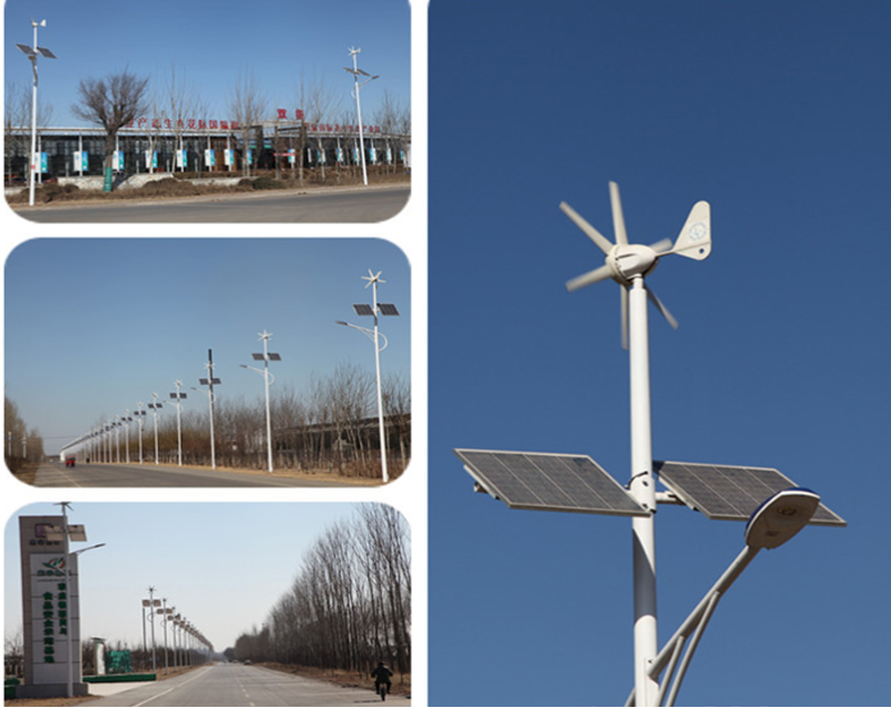 120W LED Solar Street Light COB Street Lamp Head