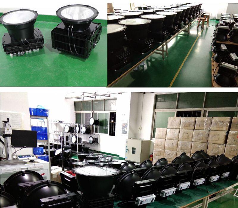 200W LED High Power Flood Light Construction Site Projection Light