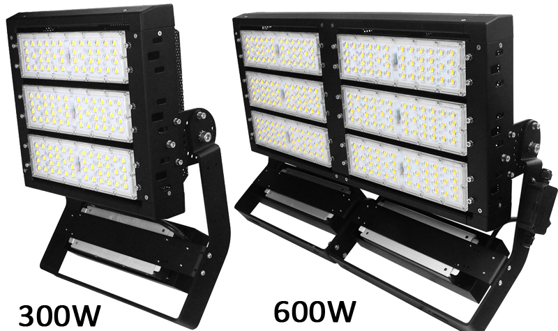 300W LED High Mast Area Light For Football Lighting