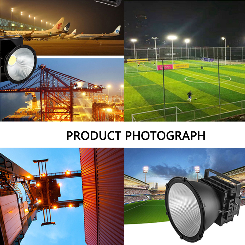 500W LED Tower Chandelier Spotlight Security Light