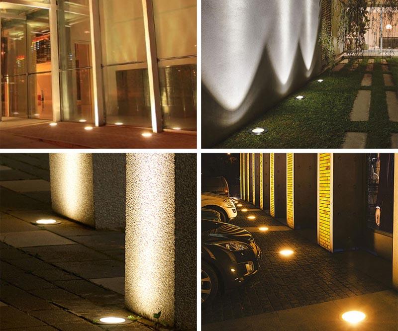 3W 6W 9W LED Underground Light