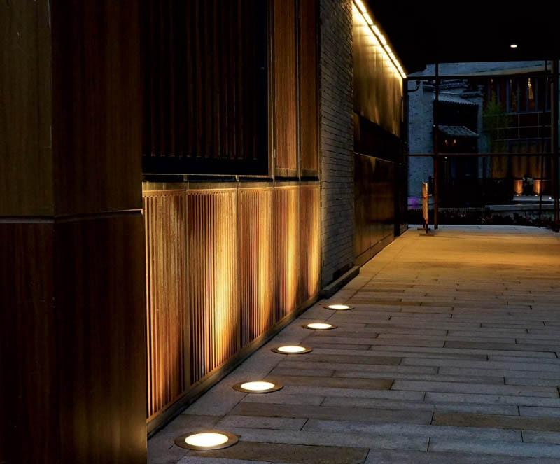 COB 6W 10W RGBW LED Inground Light Up Light