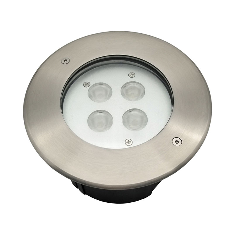 Wall Recessed RGBW LED Underwater Pond Light