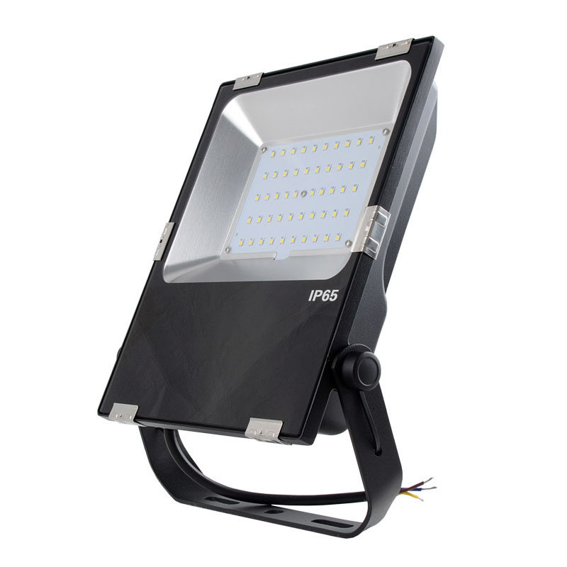 50 Watt LED Waterproof Slim Floodlight Fixture