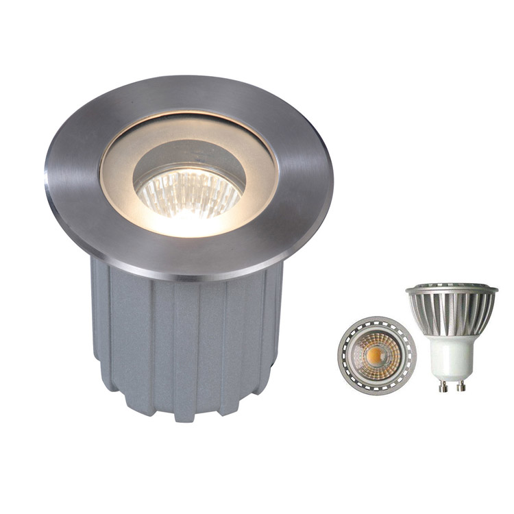 GU5.3 GU10 LED Ingroud Luminaire LED Underground Light