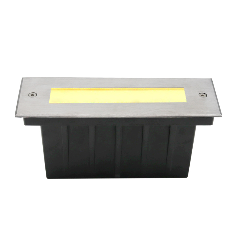 3W recessed step light