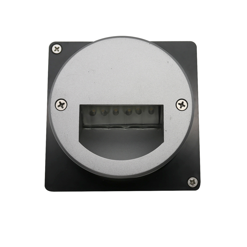 Recessed LED step light