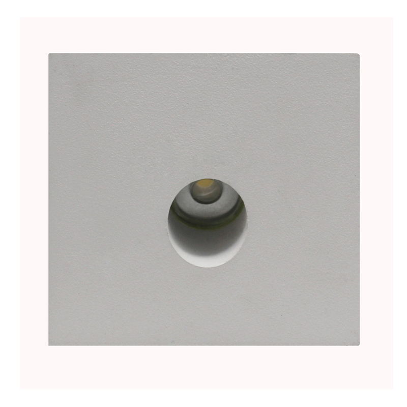 Square Recessed LED wall lamp