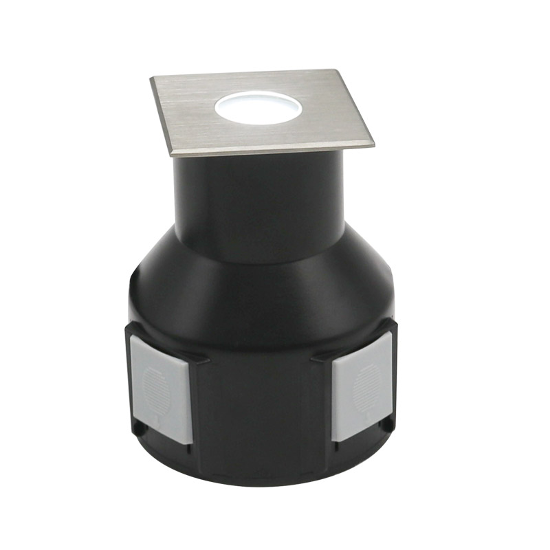 Square front cover LED underground light