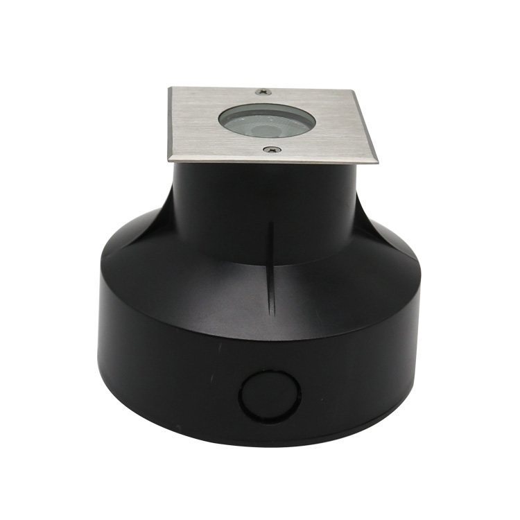 Square LED landscape underground light